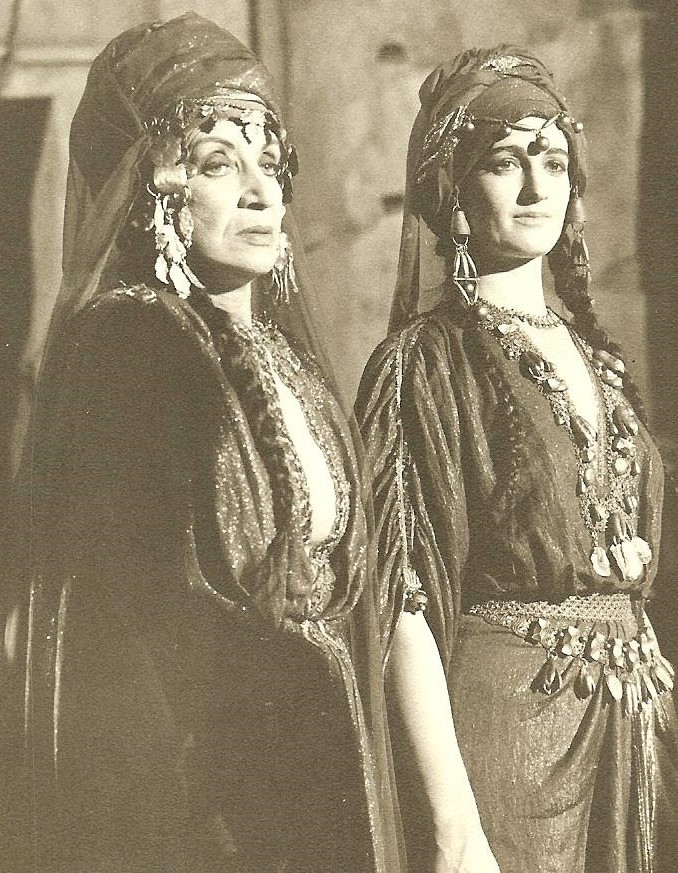 "Maria Morca, right, In ""The Greatest Story Ever Told."""