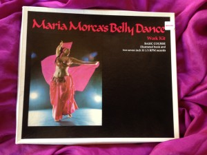 """Maria Morca's Belly Dance Work Kit"" published in 1975."