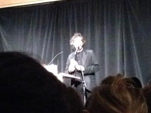 Neil Gaiman, UW, HUB, Seattle, Trigger Warning, reading