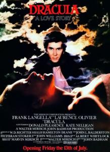 Dracula, starring Frank Langella, 1979