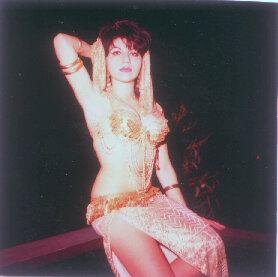 Aisha strikes a pose at Yamishiro Gardens in 1965.